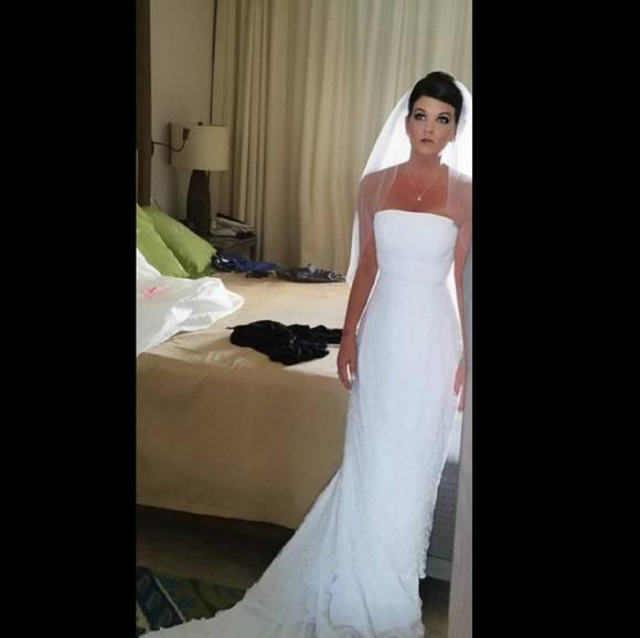 Kathryn Lacroix Dresses Strapless Wedding Dress Size 8 Poshmark